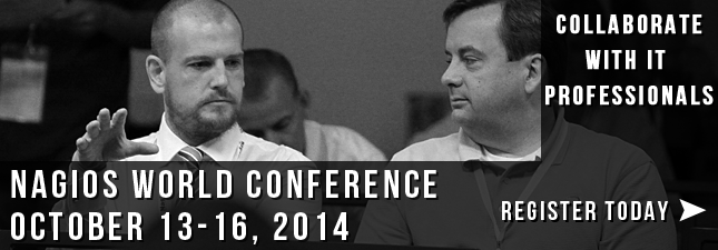 Don't miss your chance to attend the 2014 Nagios World conference!