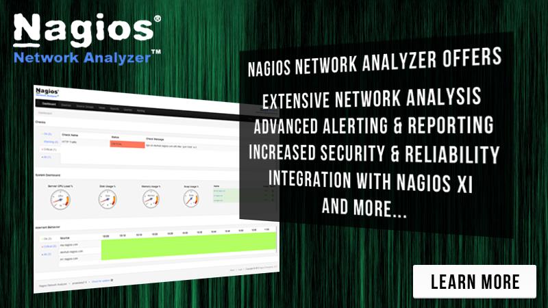 Analyze Your Network Traffic With Nagios Network Analyzer