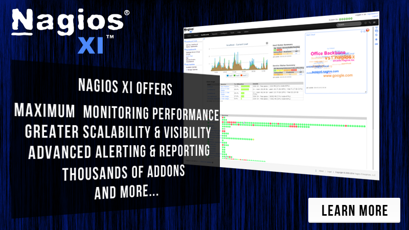 Increase Network Awareness By Monitoring With Nagios XI