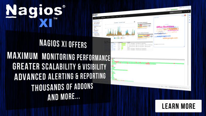 Increase Network Awareness By Monitoring With Nagios XI