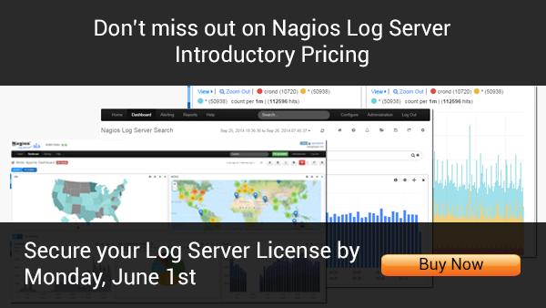 Nagios Log Server Pricing | Buy Now