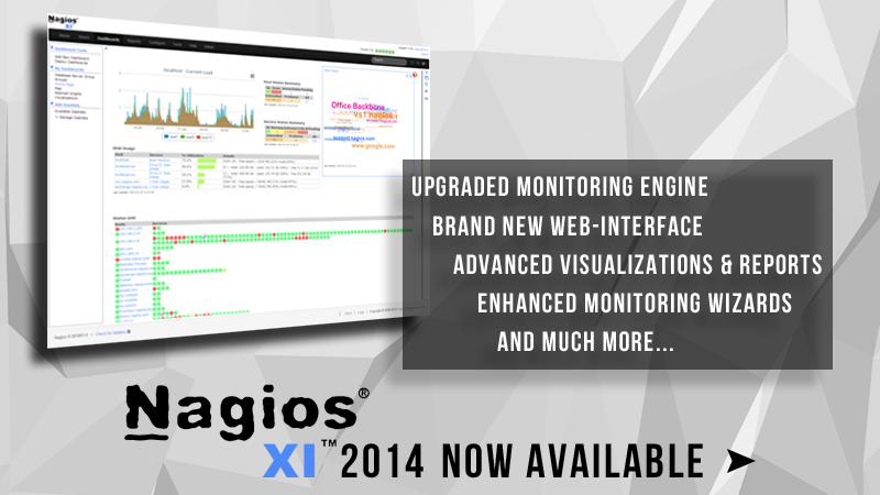 Nagios XI 2014 Now Available