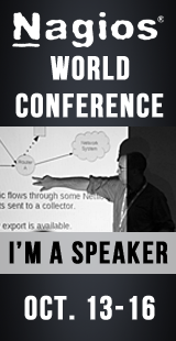I'm A Speaker At The Nagios World Conference